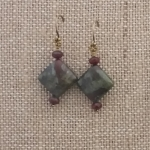 Dragons Blood Earrings
