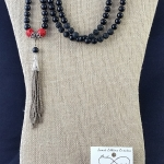 Antique Cinnabar Mala Set