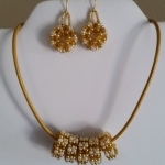 Golden Wedding Set